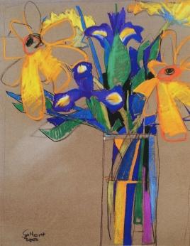 Daisies and Irises